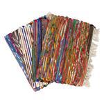 Alfombra Mini Stripes Flecos 50x90cm . . .