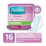 Toalla Normal Plenitud Femme X16