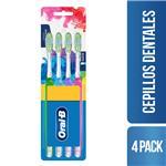 Cepillo Dental ORAL B Pro-salud Indicator Blister 4 Unidades