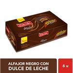 Alfajor VALENTE Chocolate 55 Gr X 6 Uni
