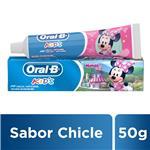 Crema Dental Oral B Kids Pomo 50 Gr