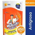 Limpiador De Cocina Mr. Músculo Líquido Extra Power Limón Repuesto 450ml