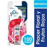 Desodorante De Ambiente Glade Toque Placer Floral Y Frutos Rojos Blister 9 Gr
