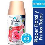 Desodorante De Ambiente Glade Placer Floral Y Frutos Rojos Aerosol 270 CC