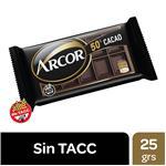Chocolate 50% Cacao Arcor Fwp 25 Grm