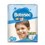 """Pañales BABYSEC Ultra Sec """"XXG"""" 17 Unidades"""