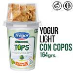 Yogur Descremado TREGAR Tops Cereales 164 Gr
