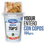 Yogur Entero TREGAR Tops Cereales 164 Gr