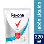 Jabon Liq. Antibac Fresh Rexona Doy 220 Ml