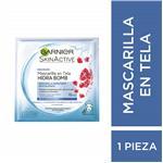 Mascarilla En Tela GARNIER Skin Active Granada X 1 U