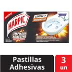 Desodorante W.C. Adhesivo Power Harpic Cja 3 Uni