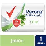 Jabón En Barra Antibacterial Rexona Aloe Vera 90 G