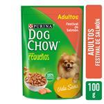 Alimento En Sobre Adultos PURINA DOG CHOW 100 Gr Salmón
