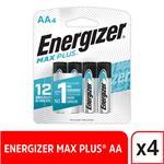 Pila Alcalina Max Plus Aax4 . . .