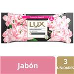 Jabón En Barra Lux Rosas Francesas 3x125 G