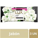 Jabón En Barra Lux Jazmín 3x125 G