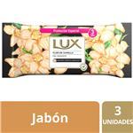 Jabón En Barra Lux Flor De Vainilla 3x125 G