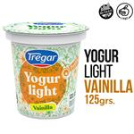 Yogur Descremado TREGAR Vainilla Light 125 Gr