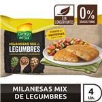 Milanesas Mix De Legumbr Granja Del  Fwp 330 Grm
