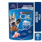 Alimento En Sobres Adultos PURINA CAT CHOW 85 Gr Pollo