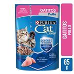 Alimento En Sobres Cachorros PURINA CAT CHOW 85 Gr Pollo