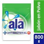 Jabón En Polvo Ala Matic Antibacterial 800 Gr