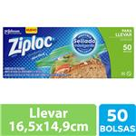 Bolsas Herméticas ZIPLOC Para Llevar Chica 50un