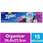Bolsas Herméticas ZIPLOC Para Organizar Grandes 15un