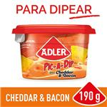 Queso Untable ADLER Cheddar 190 Gr