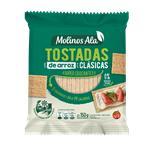 Tostadas Arroz Clásica MOLINOS ALA Paq 150 Grm