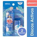 Discos Adhesivos Para Inodoro PATO Floral Aplicador + Repuesto 12gr