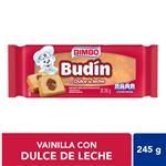 Budin Bimbo Dulce De Leche 245 Gr