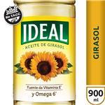 Aceite Girasol  IDEAL   Botella 900 Ml