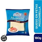 Queso Mozzarella Feteado La Paulina Paq 180 Grm