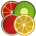 Invividual Red Frutas 38 Cm