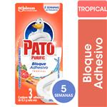 Limpiador Adhesivo Para Inodoros PATO Tropical 24.6gr