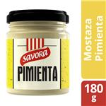 Mostaza Savora Pimienta 180 Gr