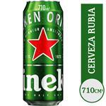 Cerveza . Heineken Lat 710 Ml