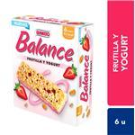 Barra Cereal Frutilla Y Yog Bimbo Cja 138 Grm
