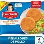 Medallones De Pollo LUCCHETTI   4 Uni X 70 Gr