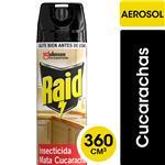 Insecticida Mata Cucaracha Raid Aer 360 Ml