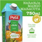 Jugo Natural C/Pulpa Naranja, Mango Y Maracurá PETIT Ttb 750 Ml