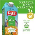 Jugo Natural C/Pulpa Naranja, Mango Y Maracuyá PETIT Ttb 1 Ltr