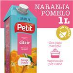 Jugo Natural C/Pulpa Naranja, Pomelo PETIT Ttb 1 Ltr