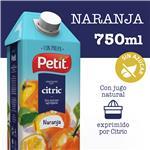Jugo Natural C/Pulpa Naranja PETIT Ttb 750 Ml
