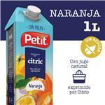 Jugo Natural C/Pulpa Naranja PETIT Ttb 1 Ltr