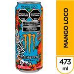Bebida Energizante Monster Mango Loco 473 Ml