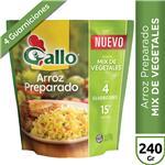 Arroz Preparado Sabor Mix De V GALLO Paq 240 Grm