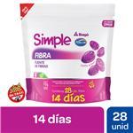 Pastillas De Goma Fuente D/Fibra Simple Doy 112 Grm