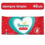 Toallitas Húmedas Pampers Siempre Limpio 48 Un